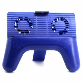 Handheld-Game-Controller-Holder-Cooler-with-Mobile-Joystick-Blue