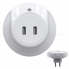 SZFC-21A-Dual-USB-Charger-Warm-White-Night-Light-White-(EU-Plug)