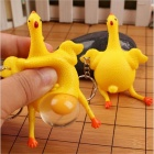 OJADE Squeeze Chicken Laying Muna Stressi Relief Tricky Gag Lelut (5 PCS)