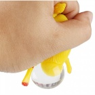 OJADE Squeeze Chicken Laying Egg Stress Relief Vent Tricky Gag Toy