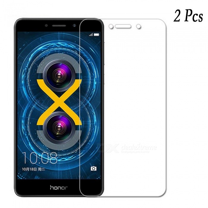 Naxtop Tempered Glass Screen Protectors for Huawei Honor 6X (2 PCS)Screen Protectors<br>Form  ColorTransparent (2Pcs)Screen TypeGlossyModelN/AMaterialTempered GlassQuantity2 piecesCompatible ModelsHuawei honor 6XFeatures2.5D,Fingerprint-proof,Scratch-proof,Tempered glassPacking List2 x Tempered glass films2 x Wet wipes2 x Dry wipes2 x Dust absorbers<br>