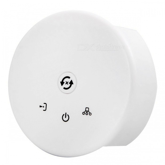 SZFC LED Wi-Fi Controller (DC 12-24V 4A)Other Accessories<br>Form  ColorWhite + Black + Multi-ColoredModelUFO-WI-FIMaterialABSQuantity1 DX.PCM.Model.AttributeModel.UnitRate VoltageDC 12-24VWorking Current4 DX.PCM.Model.AttributeModel.UnitPacking List1 x LED Wi-Fi controller<br>