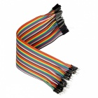 DIY Male to Female DuPont Adapter Cables - Multicolor (20cm, 40PCS)