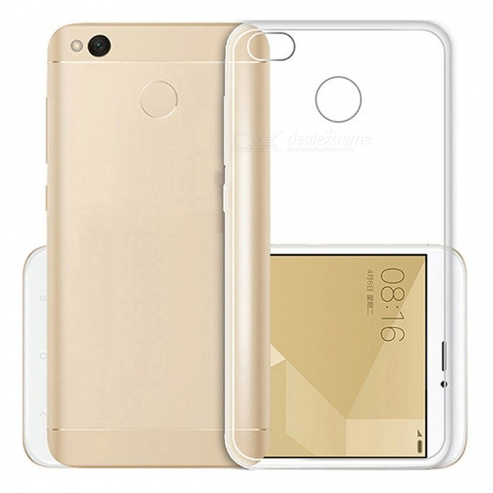ASLING TPU Ultra-thin Soft TPU Back Case for Redmi 4X - TransparentTPU Cases<br>Form  ColorTransparentModelNoMaterialTPUQuantity1 pieceShade Of ColorTransparentCompatible ModelsRedmi 4XPacking List1 x Protective case<br>