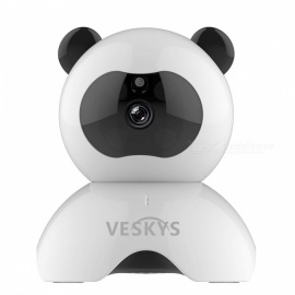 VESKYS 960P Smart Panda Wi-Fi Network IP Security Camera