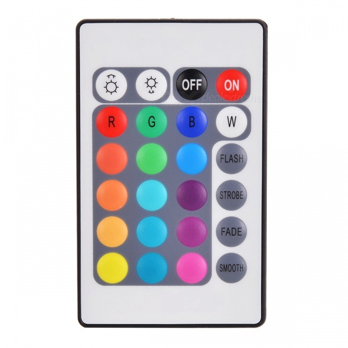 SZFC LED Smart Wi-Fi Controller with IR Remote Controller 5-28VOther Accessories<br>Form  ColorWhite + Black + Multi-ColoredModelBRG+YMaterialABSQuantity1 DX.PCM.Model.AttributeModel.UnitRate Voltage5-28VWorking Current4 DX.PCM.Model.AttributeModel.UnitConnector TypeOthers,4PIPacking List1 x WiFi controller1 x IR controller (CR2032)<br>