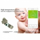 Smart Thermometer Wearable Safe Bluetooth Intelligent Baby Monitor