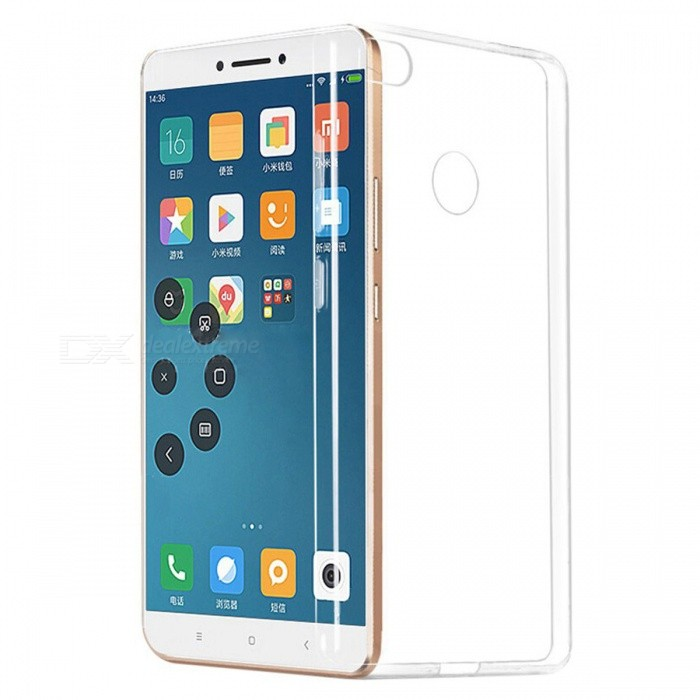 ASLING TPU Ultra-thin Soft TPU Back Case for XiaoMi Max2 - TransparentTPU Cases<br>Form  ColorTransparentModelNoMaterialTPUQuantity1 pieceShade Of ColorTransparentCompatible ModelsXiaoMi Max 2Packing List1 x Protective case<br>