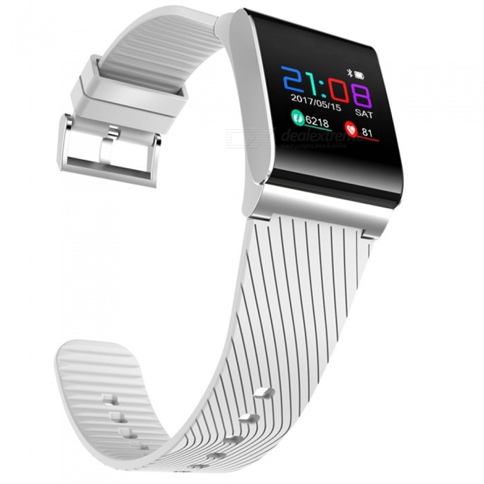 X9Pro-Color-OLED-Smart-Bracelet-with-Heart-Rate-Monitor-White