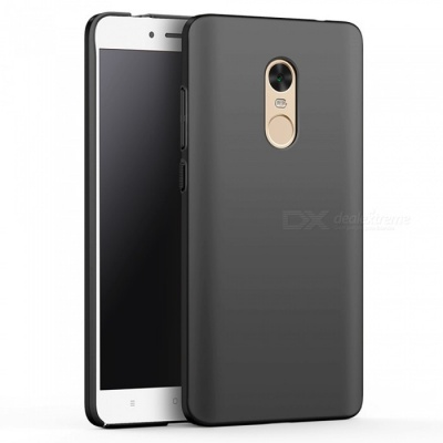 Naxtop PC Hard Protective Case for Redmi Note 4X - Black