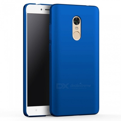 Naxtop PC Hard Protective Case for Redmi Note 4X - Blue