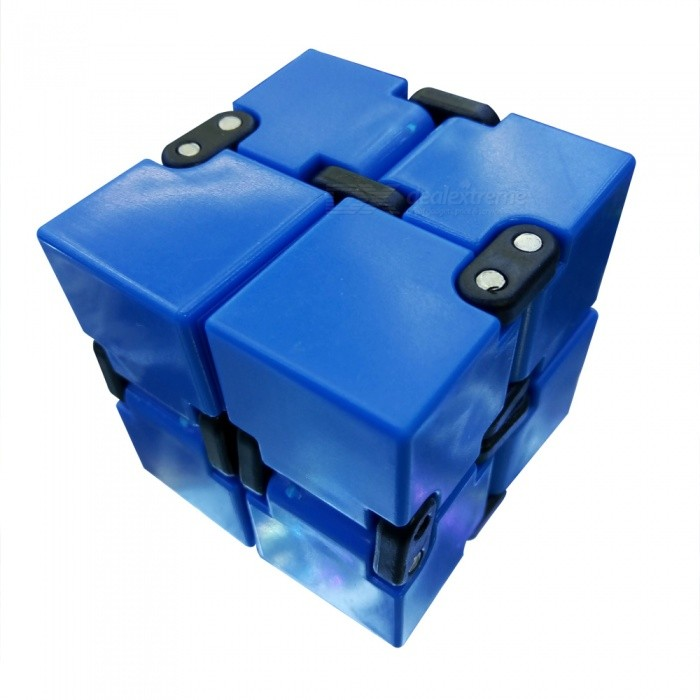 Dayspirit Infinity Cube Magic Square Infinite Flip Spinner Toy - Blue