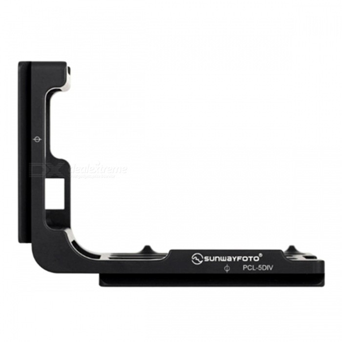 Buy SUNWAYFOTO PCL-5DIV Custom L Shaped Quick Release Plate Bracket with Litecoins with Free Shipping on Gipsybee.com
