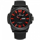 NaviForce-9066-Mens-Sports-Military-Wrist-Quartz-Watch-Red