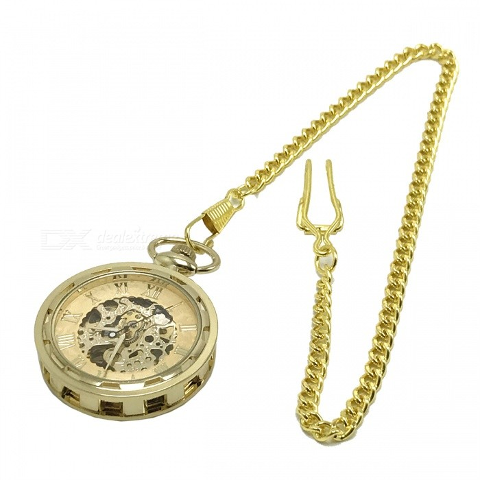 W24 Mens Zinc Alloy Mechanical Analog Pointer Pocket Watch - GoldenPocket Watches<br>Form  ColorGoldenModelW24Quantity1 DX.PCM.Model.AttributeModel.UnitShade Of ColorGoldCasing MaterialStainless steelWristband MaterialZinc AlloyGenderMenSuitable forAdultsStylePocket WatchTypeCasual watchesChain Length37.5 DX.PCM.Model.AttributeModel.UnitDisplayAnalogMovementMechanicalDisplay Format12 hour formatWater ResistantFor daily wear. Suitable for everyday use. Wearable while water is being splashed but not under any pressure.Wristband Length37.5 DX.PCM.Model.AttributeModel.UnitDial Diameter5.5 DX.PCM.Model.AttributeModel.UnitDial Thickness1.2 DX.PCM.Model.AttributeModel.UnitBand Width0.2 DX.PCM.Model.AttributeModel.UnitBatteryNoPacking List1 x Pocket watch<br>
