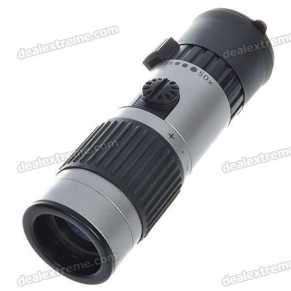 15-50*21-Sport-Climbing-Monocular-with-Carrying-Pouch-Black-2b-Silver