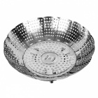 Multifunctional-Ring-pull-Steamer-Rack-Drip-Tray-Basket