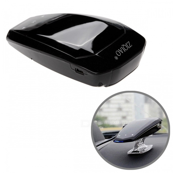ZIQIAO-CZLD-012-12V-360-Degree-Car-Radar-Detector-Black
