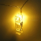 KWB Battery Powered 3m 20-LED Photo Clips String Light