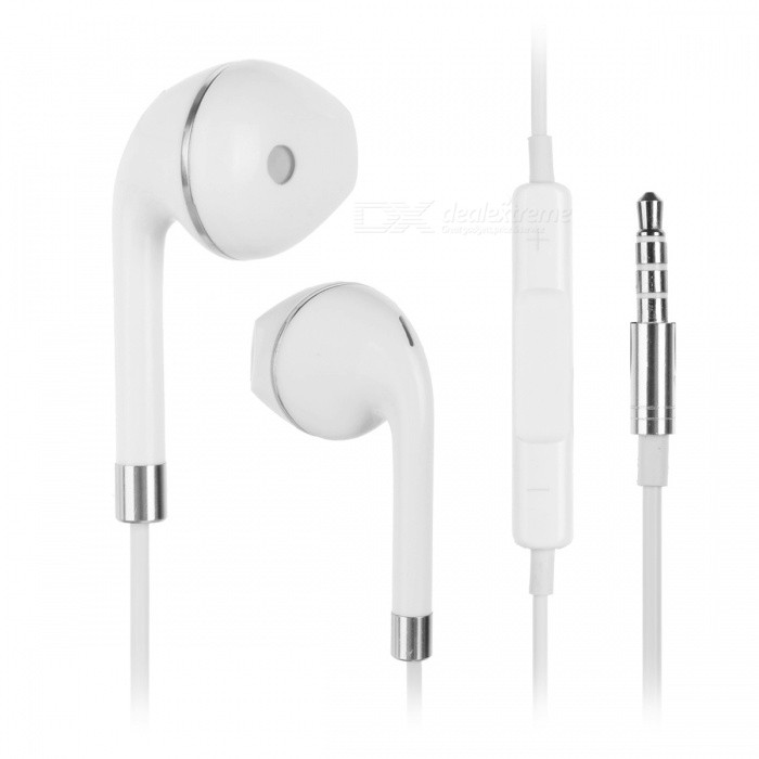 Universal Super Bass 3.5mm Wired In-ear Earphone - White, SilverHeadphones<br>Form  ColorWhite + SilverBrandOthers,N/AMaterialTPEQuantity1 DX.PCM.Model.AttributeModel.UnitConnection3.5mm WiredBluetooth VersionNoConnects Two Phones SimultaneouslyNoCable Length120 DX.PCM.Model.AttributeModel.UnitHeadphone StyleBilateral,In-EarWaterproof LevelIPX2Applicable ProductsUniversal,IPHONE 7,IPHONE 7 PLUSHeadphone FeaturesEnglish Voice Prompts,Volume Control,With Microphone,Lightweight,PortableRadio TunerNoSupport Memory CardNoSupport Apt-XNoPacking List1 x Earphone1 x Plastic Box<br>