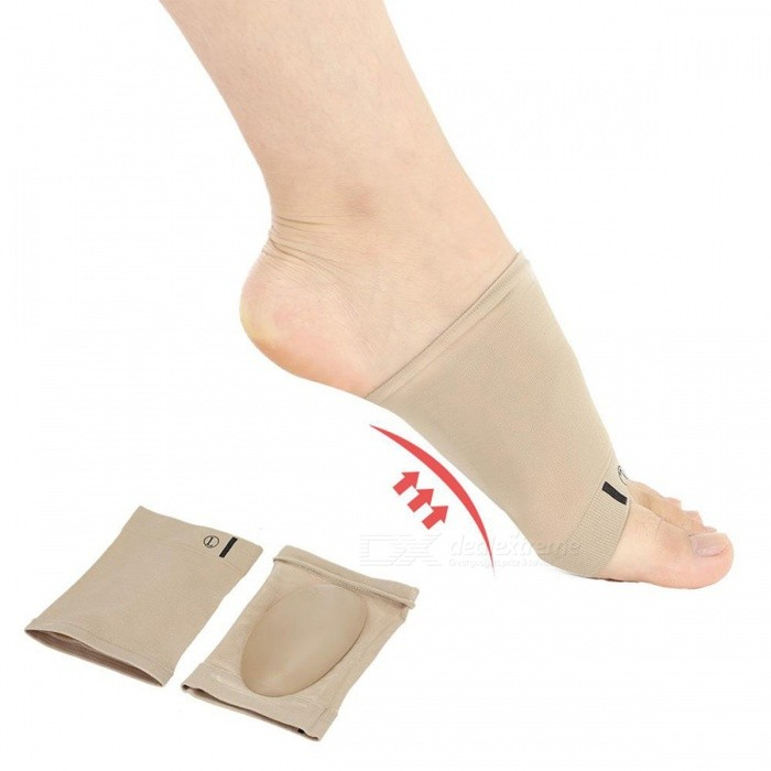 BSTUO Sleeve Heel Spurs Flat Feet Orthopedic Pad Correction Insoles