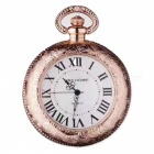 Creative-Fashion-Pocket-Watch-USB-Rechargeable-Lighter-Rose-Golden