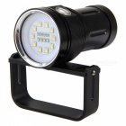 SPO 5000 lumen 3-Mode Professionell Scuba Diving ficklampa