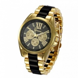 2017-Unisex-Steel-Band-Quartz-Watch-with-3-Subdial