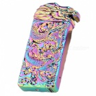 ZHAOYAO-USB-Colorful-Leading-Metal-Electronic-Cigarette-Lighter