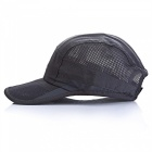 Outdoor Unisex General Sunscreen Schnell trocknender Sun Hat - Dunkelgrau
