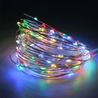 YouOKLight USB 10M Vattentät LED RGB DIY Silver Wire String Light
