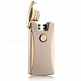 ZHAOYAO-USB-Rechargeable-Electronic-Cigarette-Lighter-Golden