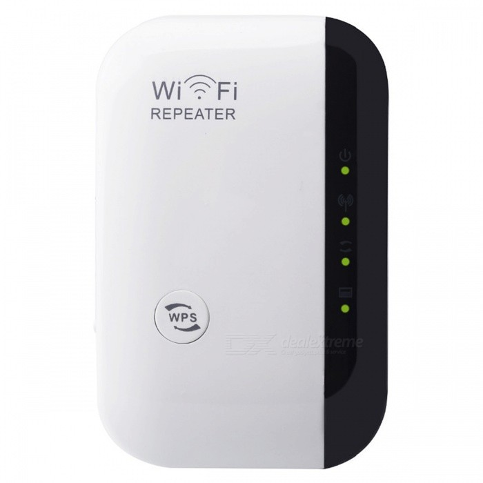 80211bgn-300Mbps-Wireless-N-WiFi-Repeater-White