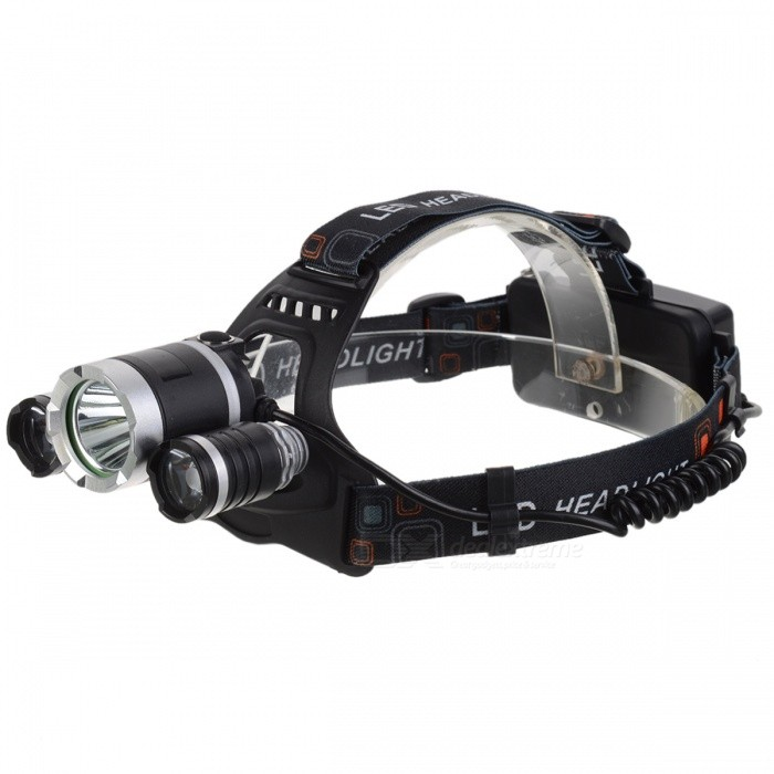 XM-L T6 3-LED White Light 13000Lm Rechargeable Headlight (US Plug)Headlamps<br>Form  ColorMulticolor (US Plug)Quantity1 DX.PCM.Model.AttributeModel.UnitMaterialPlasticEmitter BrandCreeLED TypeXM-LEmitter BINT6Color BINWhiteNumber of Emitters3Working Voltage   N/A DX.PCM.Model.AttributeModel.UnitPower Supply2*18650CurrentN/A DX.PCM.Model.AttributeModel.UnitTheoretical Lumens13000 DX.PCM.Model.AttributeModel.UnitActual Lumens13000 DX.PCM.Model.AttributeModel.UnitRuntimeN/A DX.PCM.Model.AttributeModel.UnitNumber of Modes4Mode ArrangementHi,Mid,Low,SOSMode MemoryNoSwitch TypeOthers,N/ASwitch LocationHeadLensGlassReflectorAluminum SmoothBand Length40 DX.PCM.Model.AttributeModel.UnitCompatible CircumferenceN/ABeam RangeN/A DX.PCM.Model.AttributeModel.UnitPacking List1 x Led Headlamp2 x Rechargeable 18650 batteries1 x US Plug AC/Charger1 x Car Charger1 x USB1 x Paper Box<br>