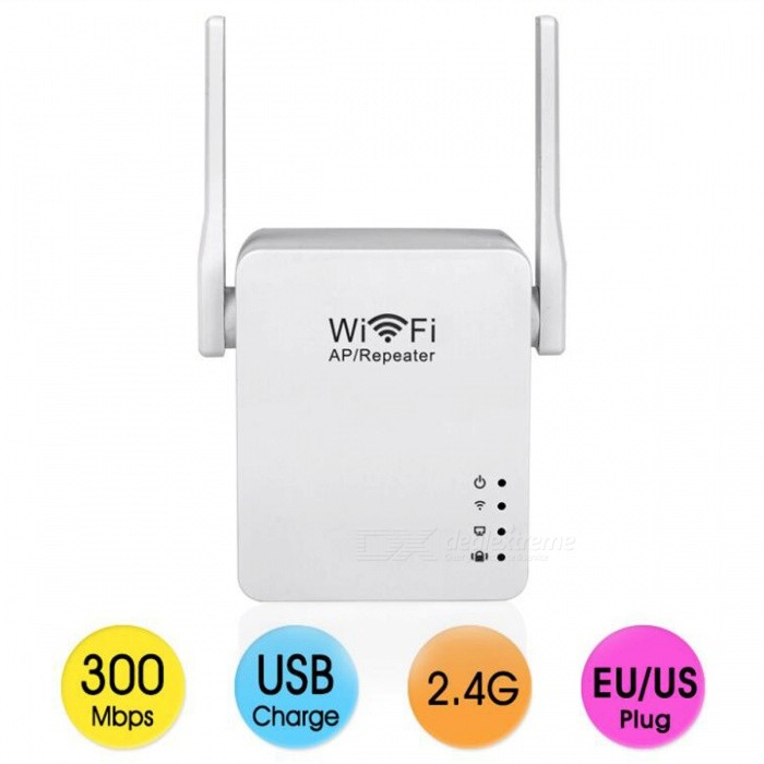 300Mbps-Double-Antenna-Mini-Wi-Fi-Repeater-(EU-Plug)