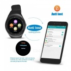 "Y1 Smart Watch 1.54"" Touch Screen Fitness Activity Tracker - Black"