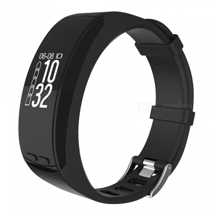 Smart Bracelet GPS Location Outdoor Running Sports Bracelet Heart RateSmart Bracelets<br>Form  ColorBlackQuantity1 DX.PCM.Model.AttributeModel.UnitMaterialABSShade Of ColorBlackWater-proofIP65Bluetooth VersionBluetooth V4.0Touch Screen TypeYesCompatible OSAndroid 4.4 or above, IOS 8.0 or aboveBattery Capacity200 DX.PCM.Model.AttributeModel.UnitBattery TypeLi-polymer batteryStandby Time5-7 DX.PCM.Model.AttributeModel.UnitPacking List1 x Fitness Tracker1 x Charging Cable1 x User Manual<br>
