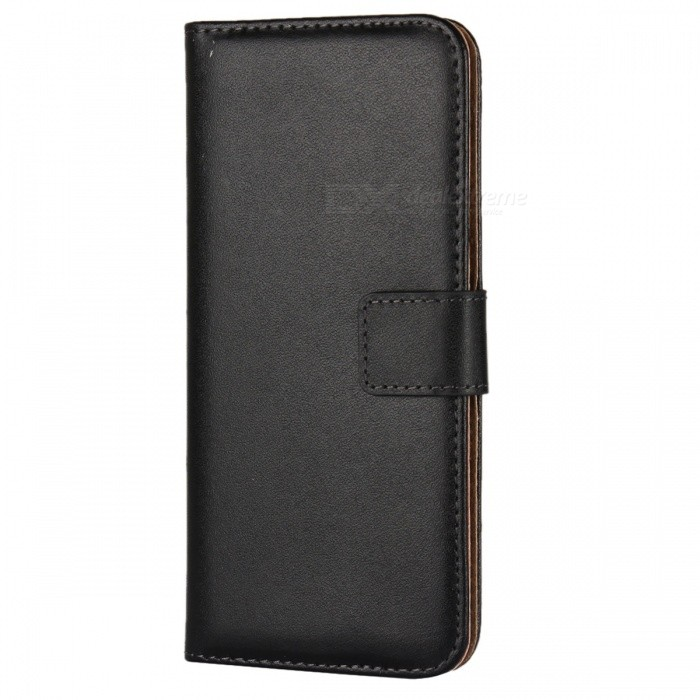 Protective Full Body Split Leather Case for Samsung GALAXY S8 - BlackLeather Cases<br>Form  ColorBlackModelN/AMaterialSplit leatherQuantity1 DX.PCM.Model.AttributeModel.UnitShade Of ColorBlackCompatible ModelsSamsung GALAXY S8Packing List1 x Leather case<br>