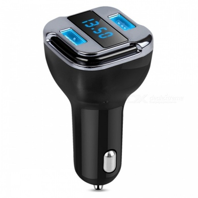 Real Time GPS Tracking Device, Car Charger with 4.2A Dual USB Port