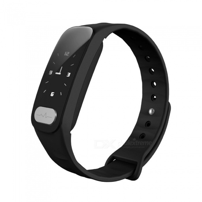 R11 Smart Wristband Bracelet ECG+PPG Heart Rate Monitoring - BlackSmart Bracelets<br>Form  ColorBlackQuantity1 DX.PCM.Model.AttributeModel.UnitMaterialABSShade Of ColorBlackWater-proofIP65Bluetooth VersionBluetooth V4.0Touch Screen TypeYesCompatible OSAndroid 4.4 or IOS8.0 and above sBattery Capacity80 DX.PCM.Model.AttributeModel.UnitBattery TypeLi-polymer batteryStandby Time5 DX.PCM.Model.AttributeModel.UnitPacking List1 x Fitness Tracker1 x Charging Cable1 x User Manual<br>
