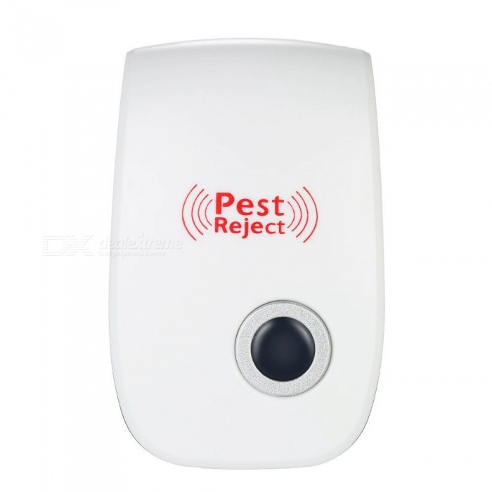 SZFC 6W Electronic Ultrasonic Pest Repeller - White (EU Plug)