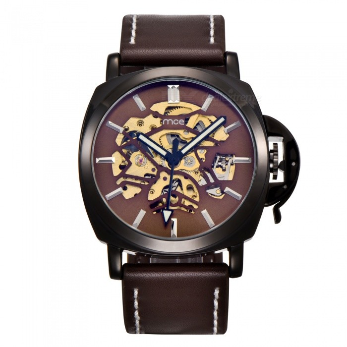 MCE-01-0060498-Mens-Leather-Automatic-Mechanical-Watch