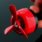 Auto Air Vent Outlet Mini Air Freshener Fan - Rot