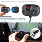 Bluetooth Car Kit Handsfree Trådlös Bluetooth Music FM-sändare