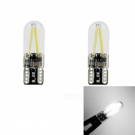 JRLED Car T10 2W Light COB LED Indicator Lamps (2 PCS)