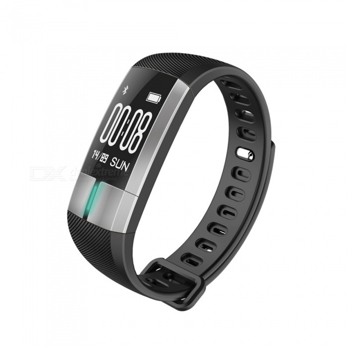 G20 0.73 OLED Smart Bracelet with Heart Rate ECG Monitor - BlackSmart Bracelets<br>Form  ColorBlack + MulticolorQuantity1 DX.PCM.Model.AttributeModel.UnitMaterialABSShade Of ColorBlackWater-proofIP67Bluetooth VersionBluetooth V4.0Touch Screen TypeYesCompatible OSAndroid 4.4 and aboveiOS 8.2 and aboveBattery Capacity110 DX.PCM.Model.AttributeModel.UnitBattery TypeLi-polymer batteryStandby Time10 DX.PCM.Model.AttributeModel.UnitPacking List1 x Smartwatch1 x Instruction<br>