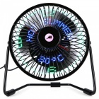 KELIMA-USB-LED-Mini-Fan-w-Time-Temperature-Display-for-Home-Office