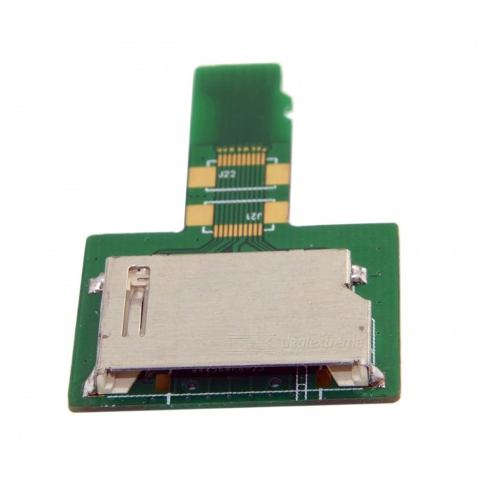 CY EP-106 SD Card Socket Female to Micro-SD TF Male Memory CardOther Accessories<br>Form  ColorGreenModelEP-106Quantity1 pieceMaterialABSCompatible BrandOthersOther FeaturesSD Card Socket Female to Micro-SD TF MalePacking List1 x Adapter<br>