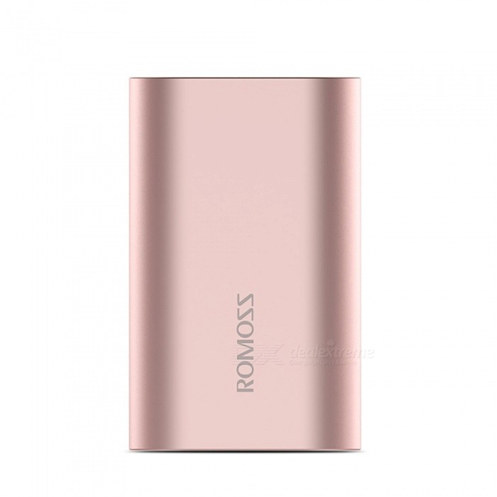 ROMOSS A10 10000mAh Dual USB Quick Charge Power Bank-Rosa