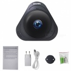 ESCAM Q8 HD 960P 360 Grad Panorama-Monitor Fisheye-Kamera (EU-Stecker)